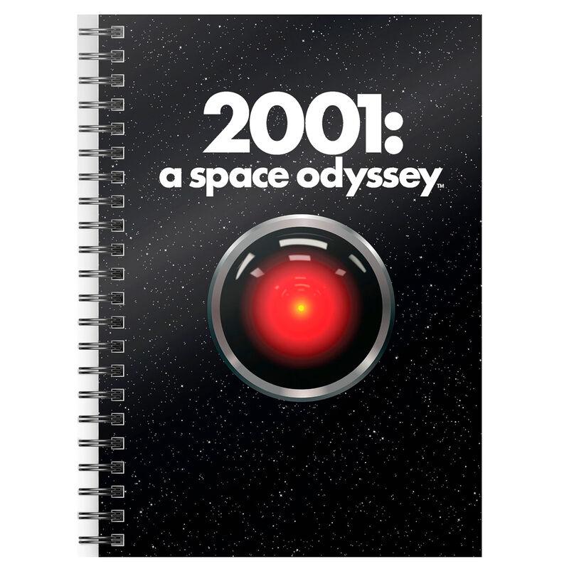 2001: A Space Odyssey A5 jegyzetfüzet termékfotó