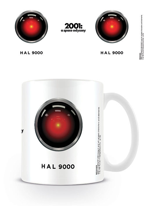2001 A Space Odyssey HAL 9000 White bögre termékfotó