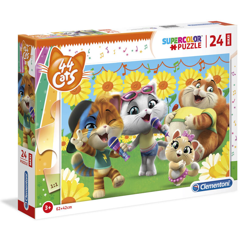 44 Cats Maxi puzzle 24db-os termékfotó