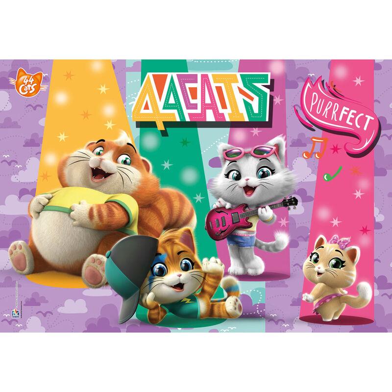 44 Cats puzzle 104db-os termékfotó