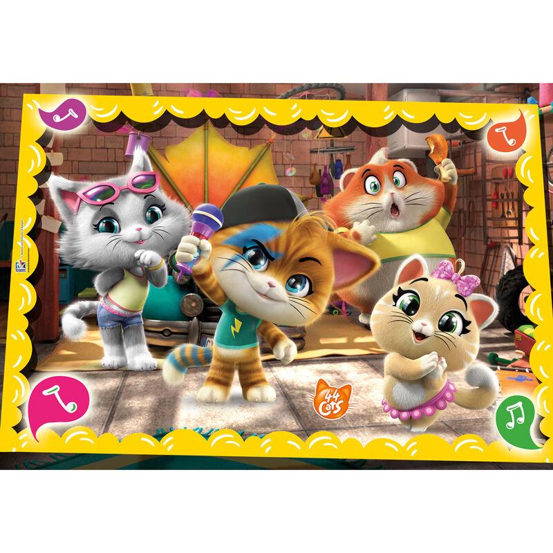 44 Cats puzzle 60db-os termékfotó