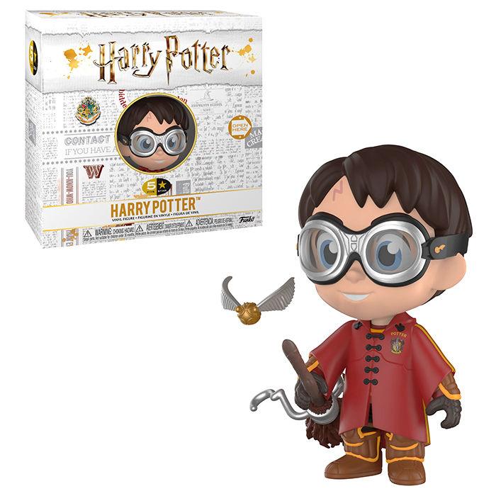 5 Star figura Harry Potter Harry Quidditch vinyl Exkluzív termékfotó