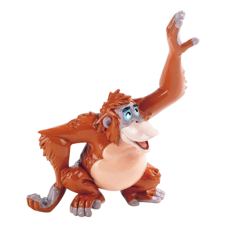 A dzsungel könyve Lajcsi király Disney figura termékfotó