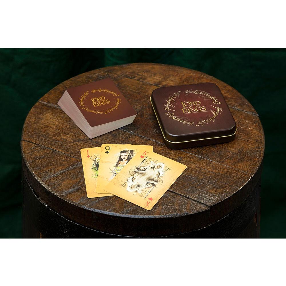 A Gyűrűk Ura kártyajáték fém dobozban termékfotó