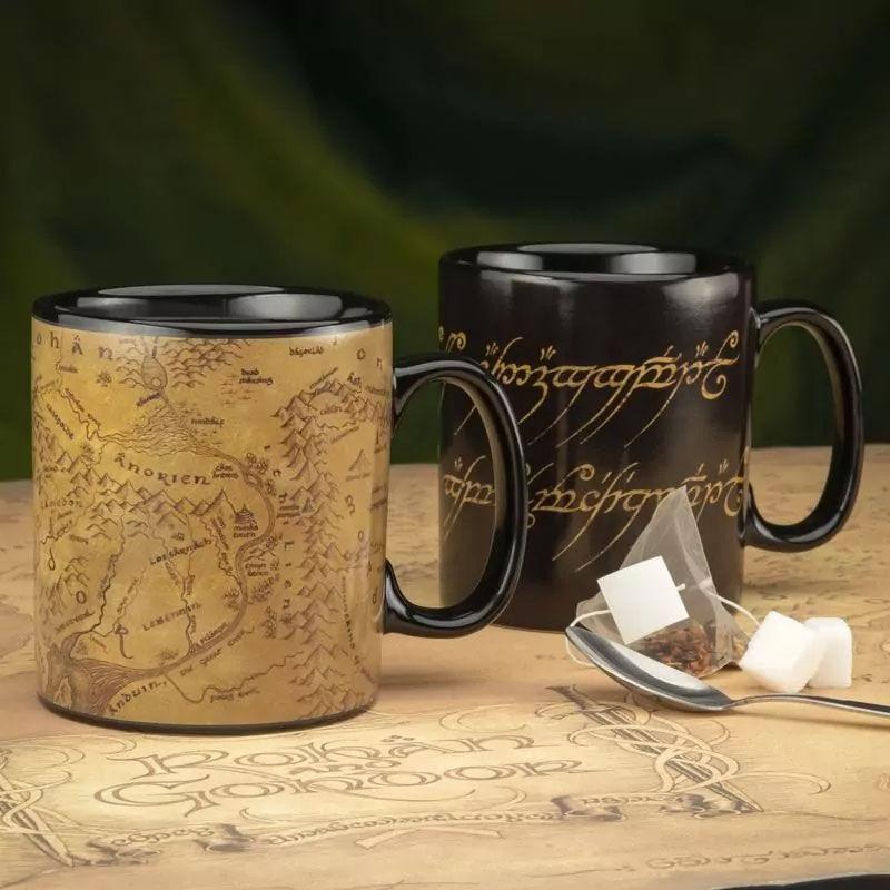 A Gyűrűk Ura Middle-earth hőre változó bögre termékfotó