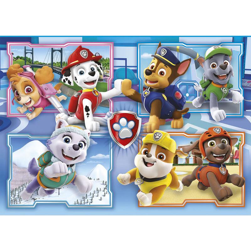 A Mancs őrjárat puzzle 2x60db-os termékfotó