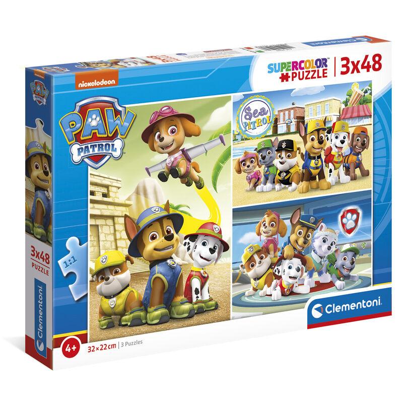 A Mancs őrjárat puzzle 3x48db-os termékfotó