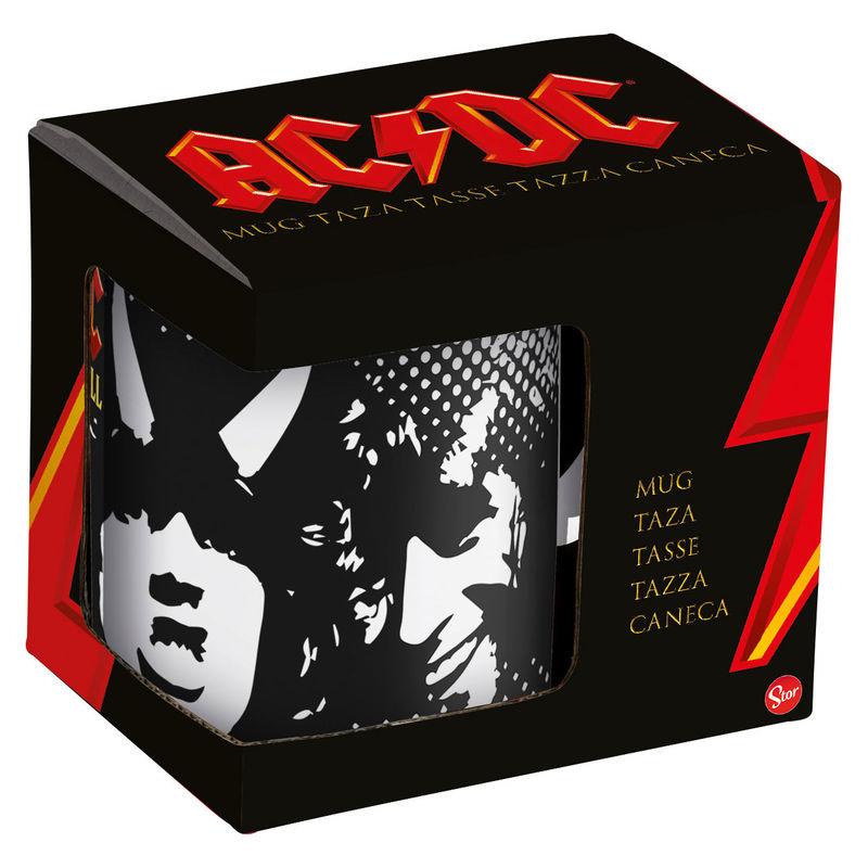 AC/DC kerámiabögre termékfotó