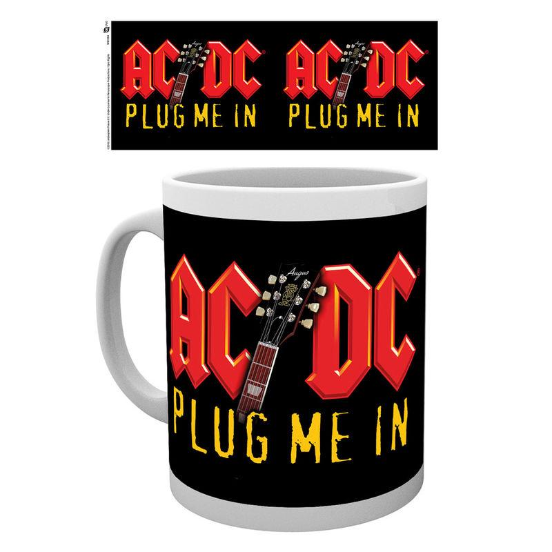 AC/DC Plug Me In bögre termékfotó