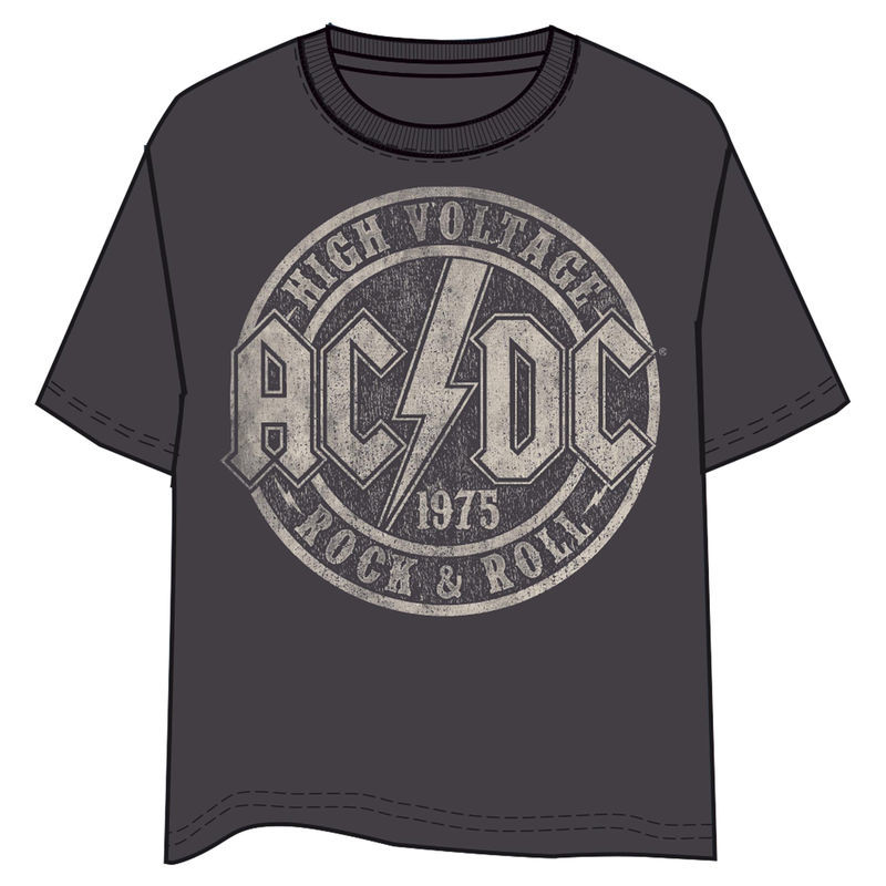 ACDC High Voltage felnőtt póló XL-es termékfotó