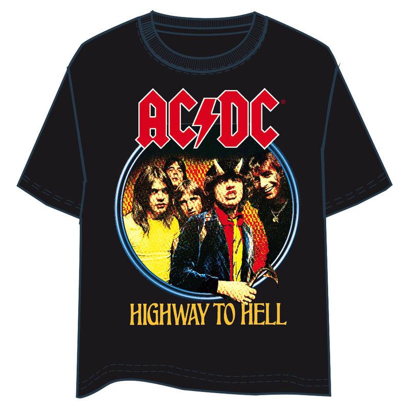 ACDC Highway to Hell felnőtt póló M-es termékfotó
