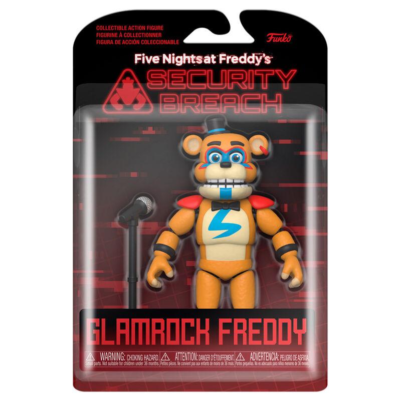Akció figura Friday Night at Freddys Security Breach Glamrock Freddy termékfotó
