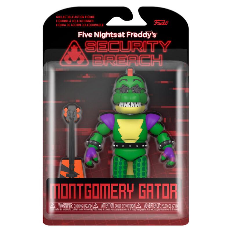 Akció figura Friday Night at Freddys Security Breach Montgomery Gator termékfotó
