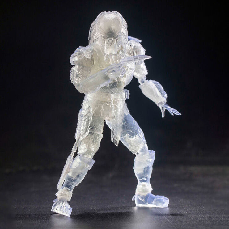 Alien vs. Predator Invisible Celtic Predator Exquisite Mini figura 12cm termékfotó