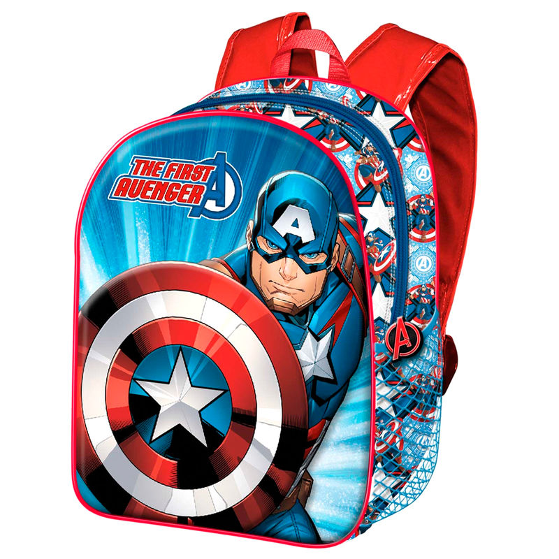 Amerika Kapitány táska hátizsák 40cm termékfotó