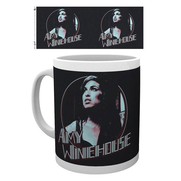 Amy Winehouse Retro Badge bögre termékfotó