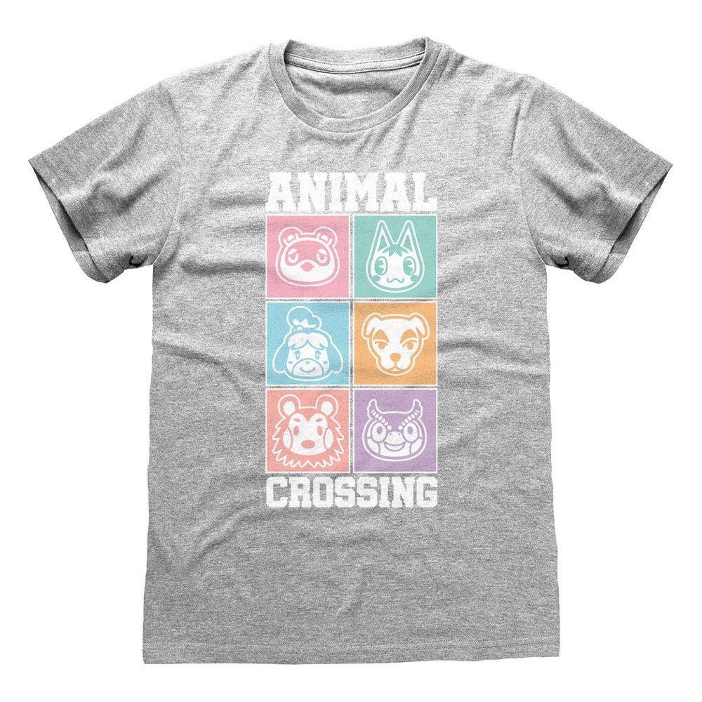 Animal Crossing póló Pastel Square [L] termékfotó