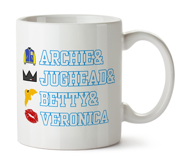 Archie & Jughead & Betty & Veronica bögre termékfotó