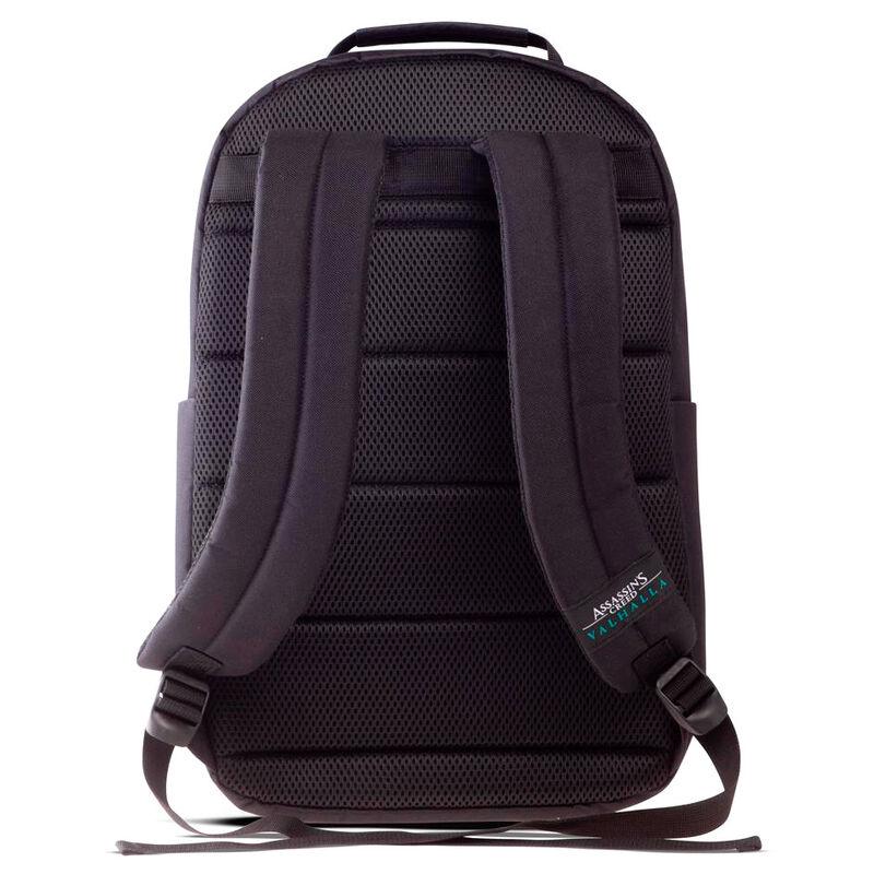Assasin's Creed Valhalla fekete Screen Printed táska hátizsák termékfotó