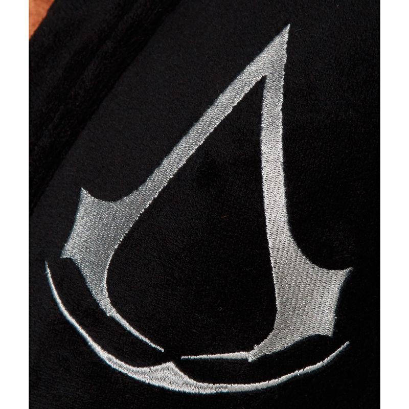 Assassin's Creed fekete Logós férfi fürdőköpeny köntös termékfotó