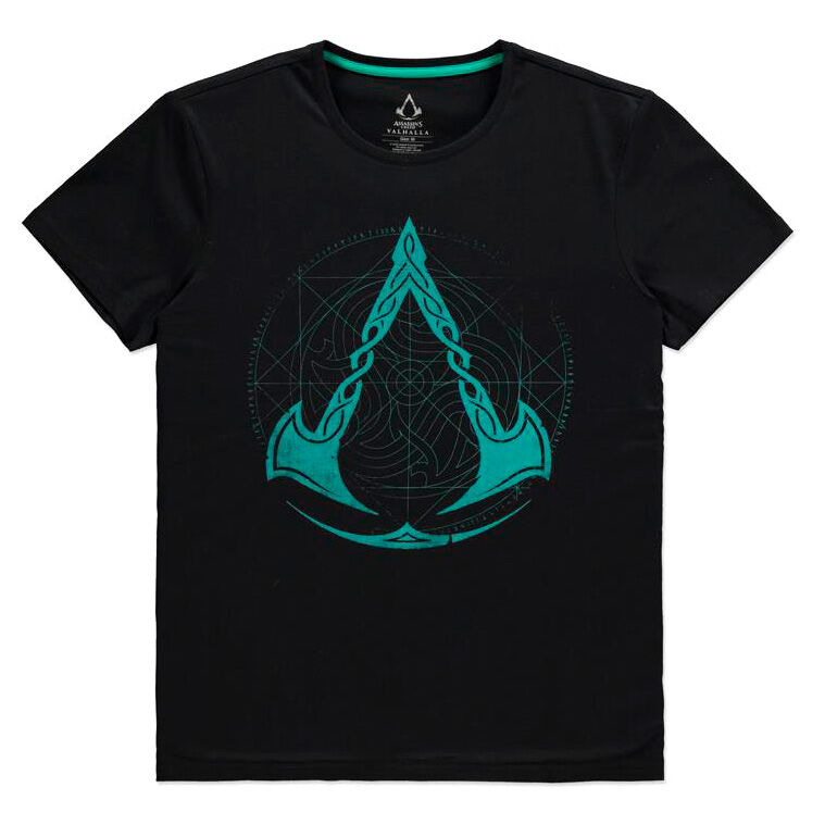 Assassin's Creed Valhalla Crest Grid póló [S] termékfotó