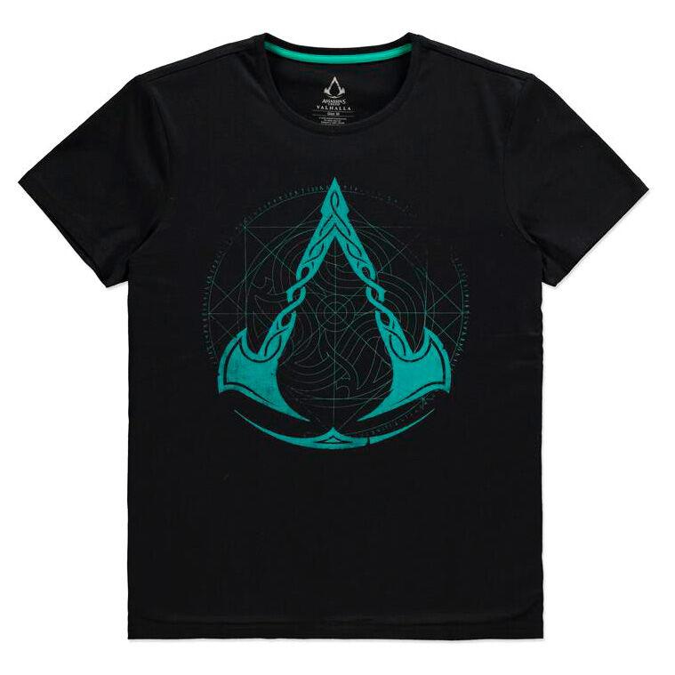 Assassin's Creed Valhalla Crest Grid póló [XXL] termékfotó