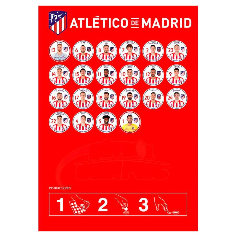 Atletico Madrid gombfoci játékcsomag termékfotó