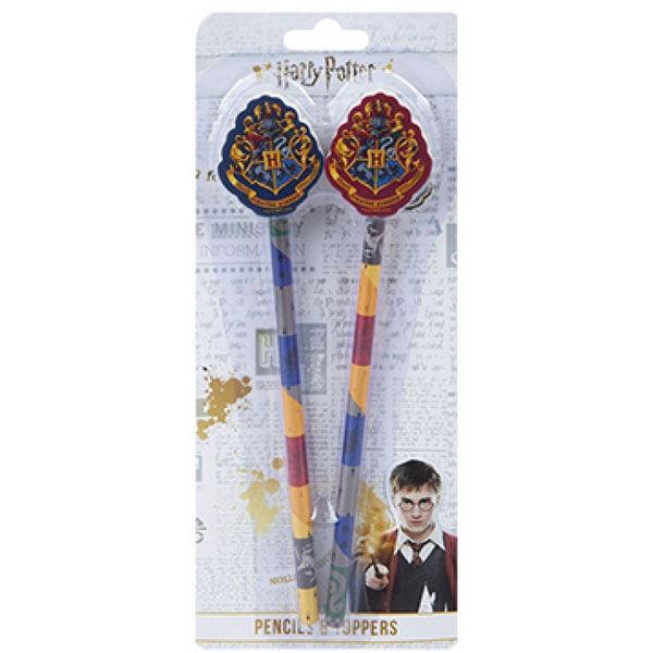Harry Potter 2db ceruza radír végekkel termékfotó