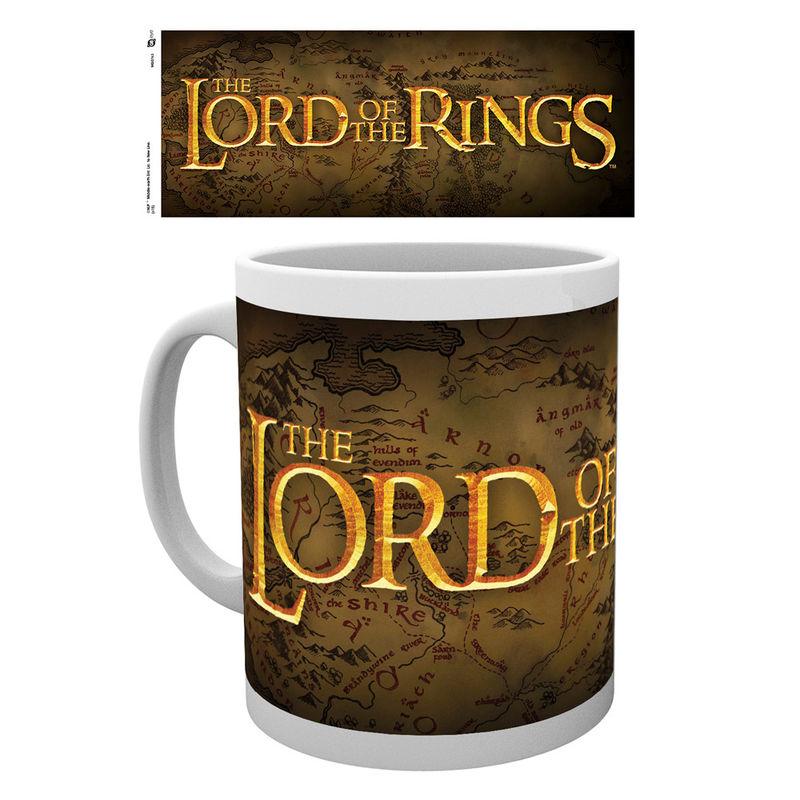 Lord of the Rings logo bögre termékfotó