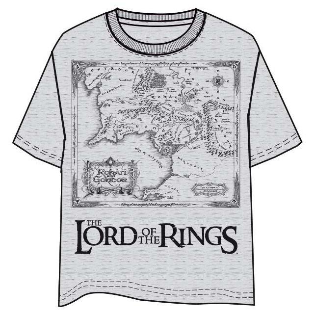 The Lord of the Rings Map felnőtt póló [M] termékfotó