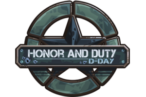Honor and Duty: D-Day-os logó