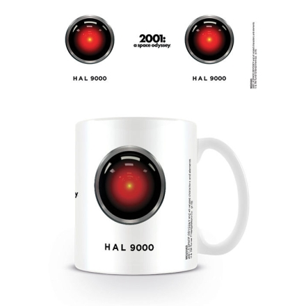 2001 A Space Odyssey HAL 9000 White bögre ajándékba