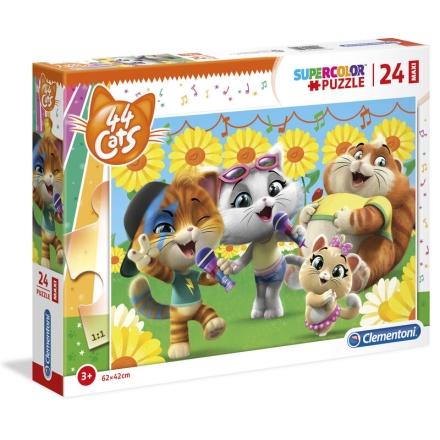 44 Cats Maxi puzzle 24db-os ajándékba