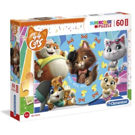 44 Cats Maxi puzzle 60db-os ajándékba