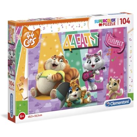 44 Cats puzzle 104db-os ajándékba