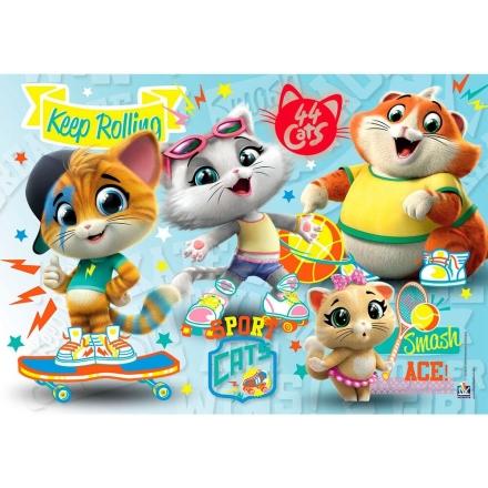 44 Cats puzzle 60db-os ajándékba