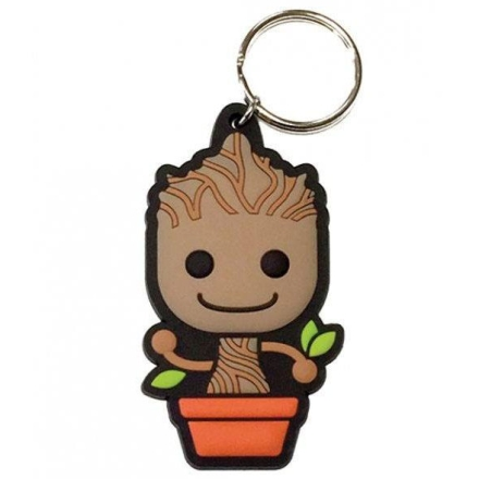 A galaxis örzői Baby Groot kulcstartó ajándékba