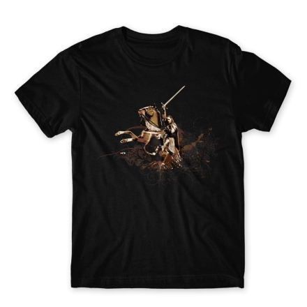 A Gyűrük Ura Aragorn with Brego férfi póló ajándékba