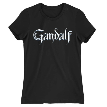 A Gyűrük Ura Gandalf Text női póló ajándékba