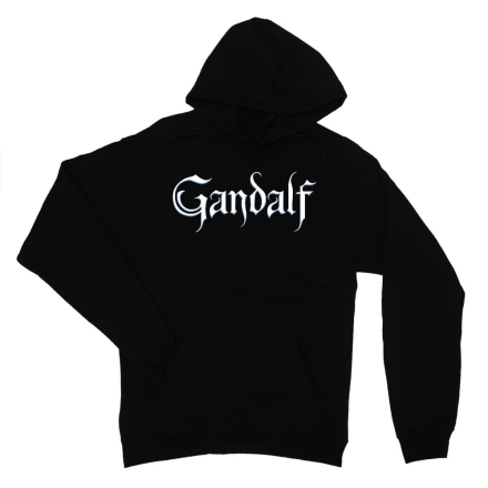 A Gyűrük Ura Gandalf Text női pulóver ajándékba