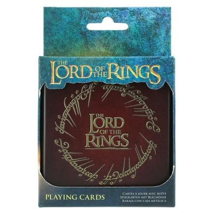 A Gyűrűk Ura kártyajáték fém dobozban termékfotója