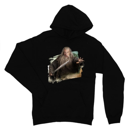A hobbit Gandalf with sword női pulóver ajándékba