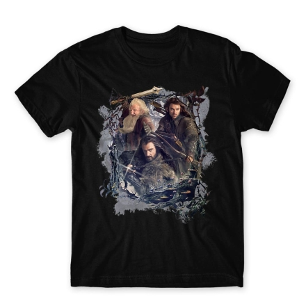 A hobbit Hobbit team férfi póló termékfotója