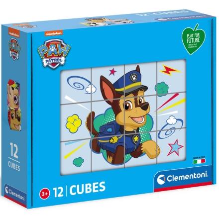 A Mancs őrjárat cube puzzle 12db-os ajándékba