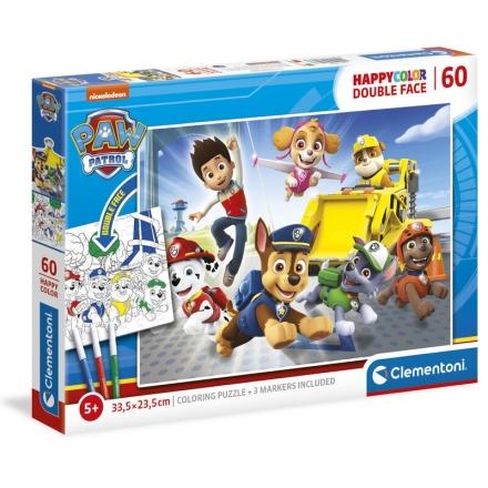 A Mancs őrjárat Happy Color puzzle 60db-os ajándékba