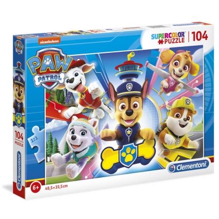 A Mancs őrjárat puzzle 104db-os ajándékba