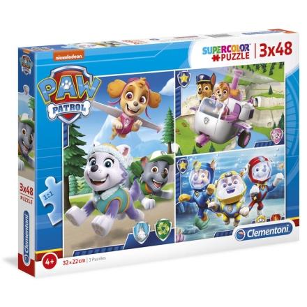 A Mancs őrjárat puzzle 3x48db-os termékfotója