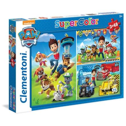 A Mancs őrjárat puzzle 3x48db-os ajándékba