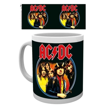 AC/DC Band bögre ajándékba
