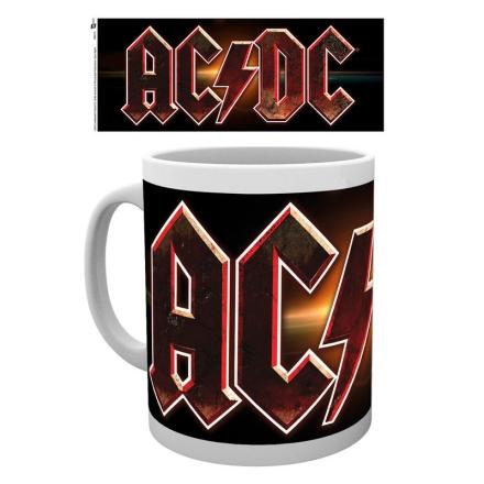 AC/DC Logós bögre termékfotója